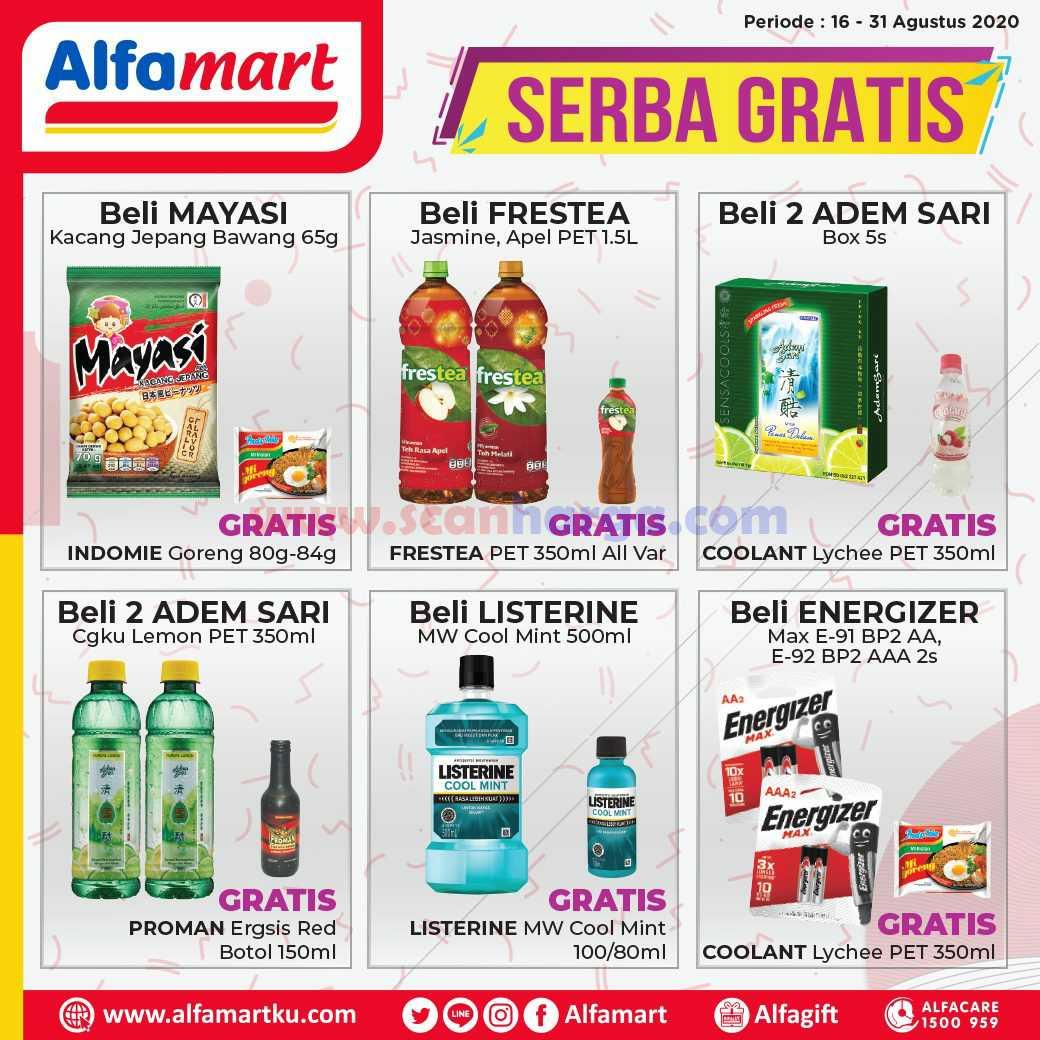 Katalog Alfamart Promo Serba Gratis