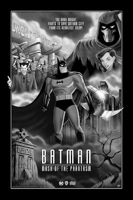 Batman: The Mask of the Phantasm Fine Art Giclee by Sam Gilbey x Bottleneck Gallery