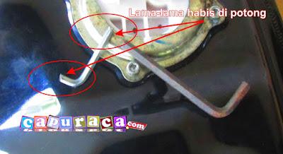 kunci L untuk lepad fuel pumpp mio