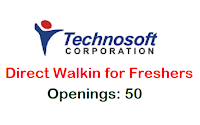 Technosoft-Corporation-walkin-freshers