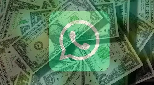 WhatsApp is trying to return the money to those who send the payments