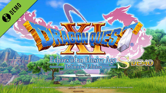 dragon quest 11 s echoes of an elusive age definitive edition demo pc steam ps4 xb1 role-playing game square enix