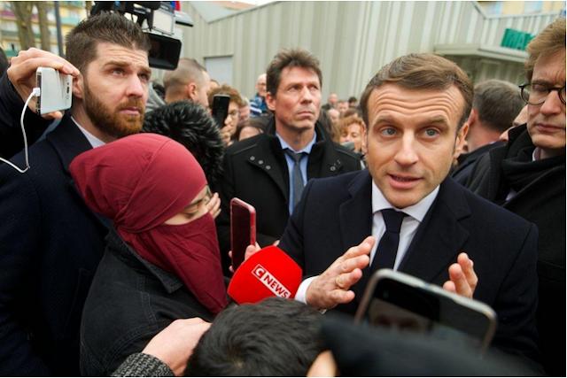 Macron promete represión contra el islam político en Francia