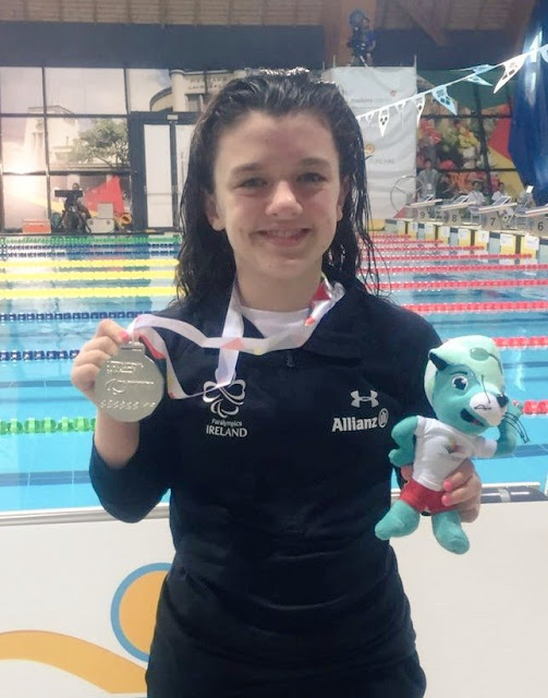 Rio2016 Paralympics Swimming  Silver Nicole