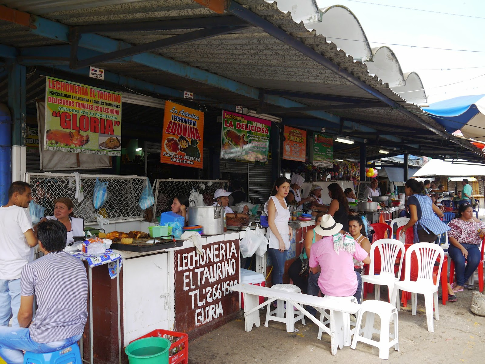 Lechoneria Plaza De Mercado La 21