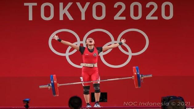 Berhasil Sabet Medali Pertama untuk Indonesia di Ajang Olimpiade Tokyo 2020, Windy Cantika Pamer Foto Medalinya Sambil Ucap Rasa Syukur, sang Atlet Beberkan Kunci Kemenangannya