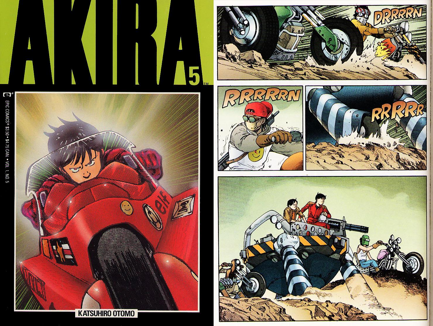 Akira Storia Manga Katsuhiro Otomo Marvel Epic Glenat