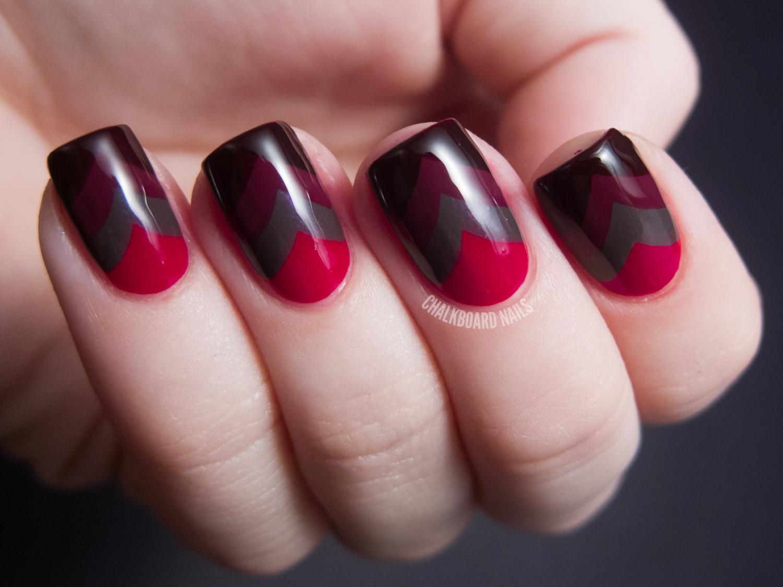 Gorgeous Red Nail Art Designs