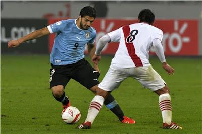 مشاهدة مباراة أوروجواي وبيرو بث مباشر اليوم
