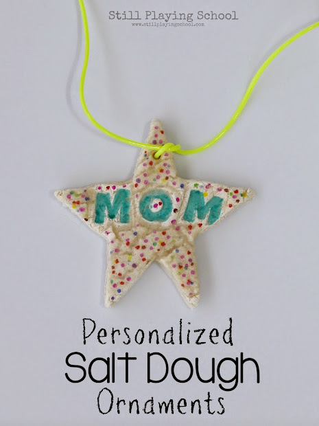 Personalized Salt Dough Ornament