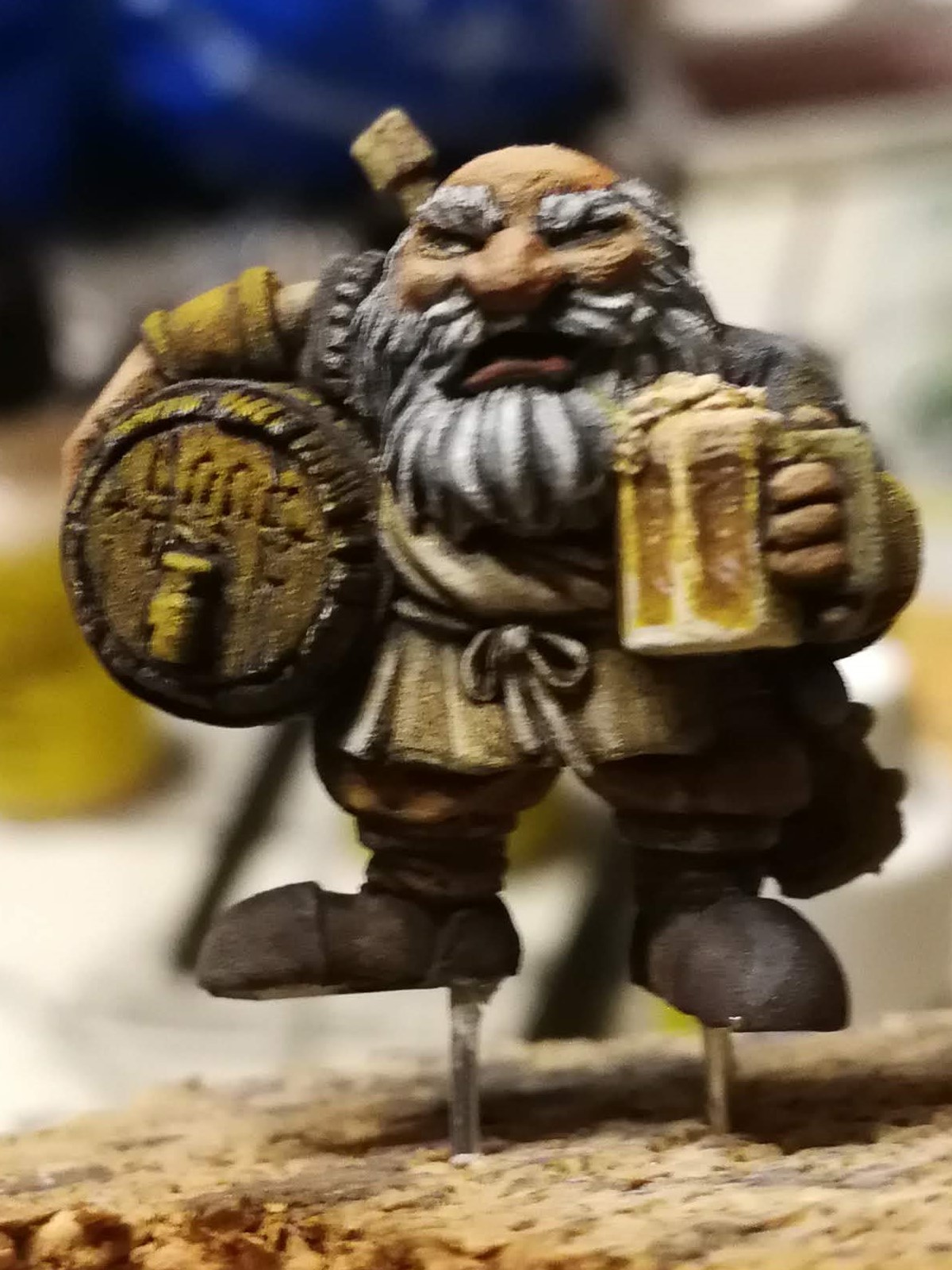 Has mature dwarven stout
