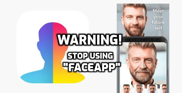 stop using faceapp