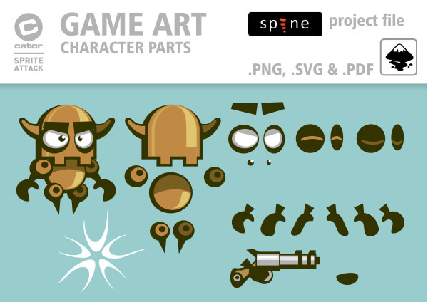 2D Game Art for FREE