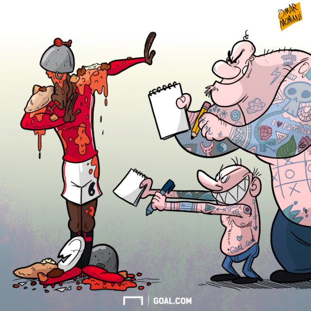 Pogba and the hooligans