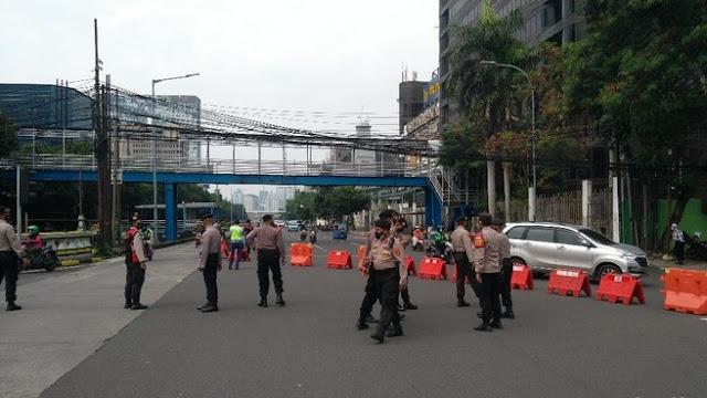 400 Personel Disiagakan Jaga Bundaran HI Hingga Glodok