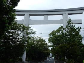 寒川神社二の鳥居