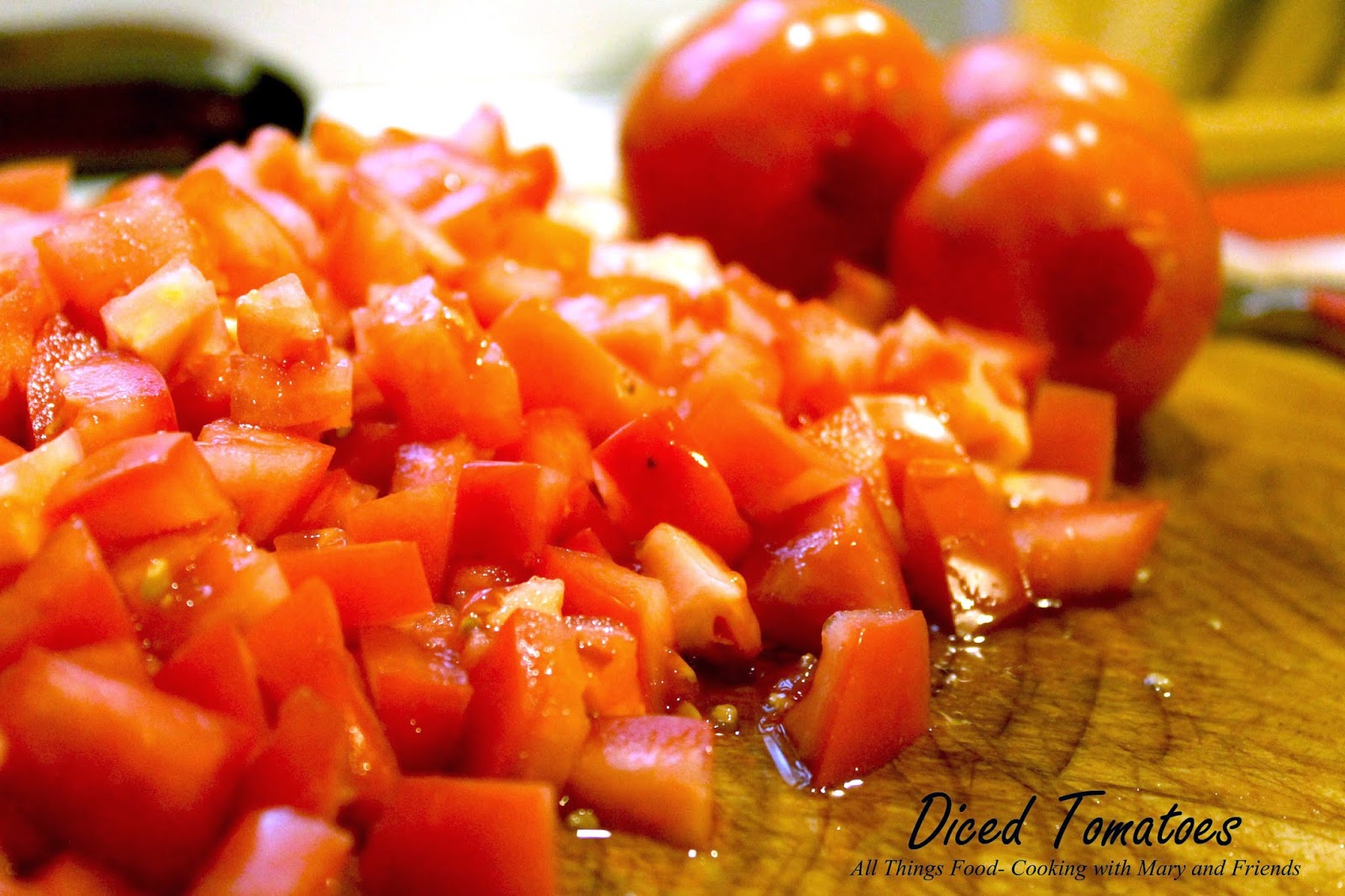 Cooking With Mary and Friends: Petite Diced Tomatoes for ...