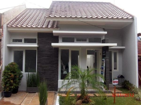 model teras rumah minimalis type 45