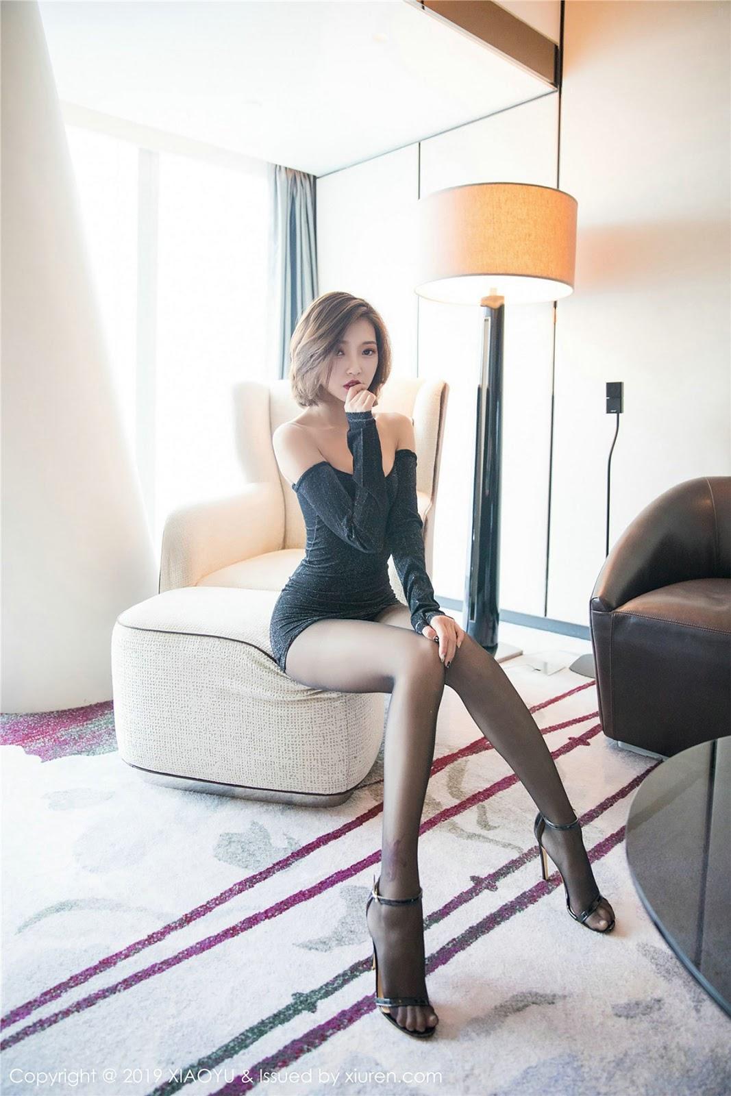 [语画界XiaoYu] Vol.158 Feng Mu Mu - CHINA MODEL GIRL
