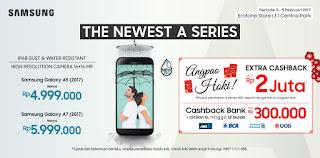 Harga launching Samsung A5 dan A7 2017