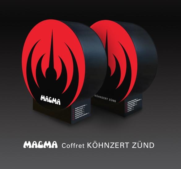 """918a3697 MAGMA To Release 12-CD Live Set """"KÖHNZERT ZÜND BOX SET"""""""
