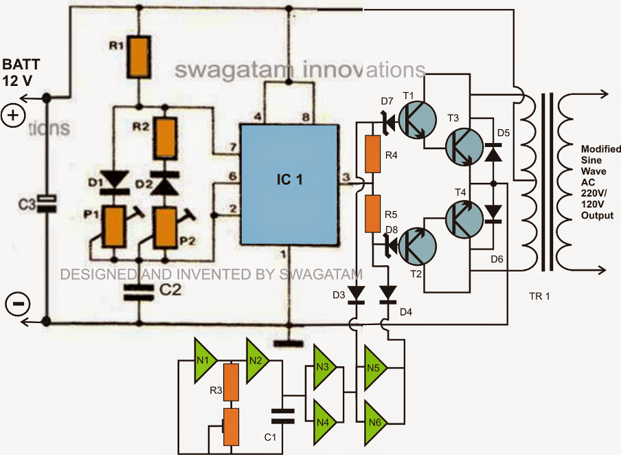 How to Make a Simplest 200 VA Uninterrupted Power Supply ...