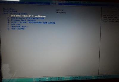 Mengatasi Komputer dan Laptop yang tidak bisa melakukan install  OS dan kembali booting / startup (UEFI ke Legacy)