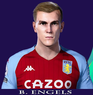 PES 2021 Faces Björn Engels by Rachmad ABs