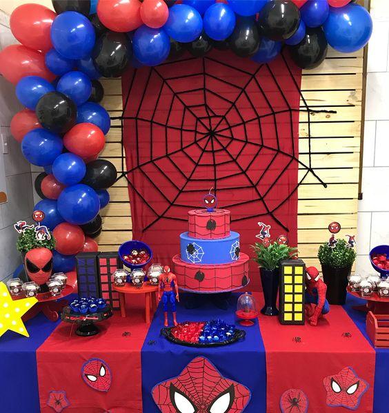 Ideas De Decoración Para Fiesta Spiderman