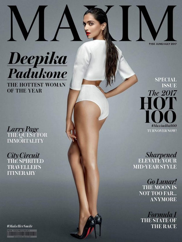 Deepika Padukone Poses For Maxim Magazine Issue June 2017