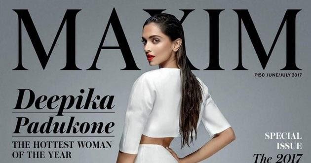 Deepika Padukone Poses For Maxim Magazine Issue June 2017