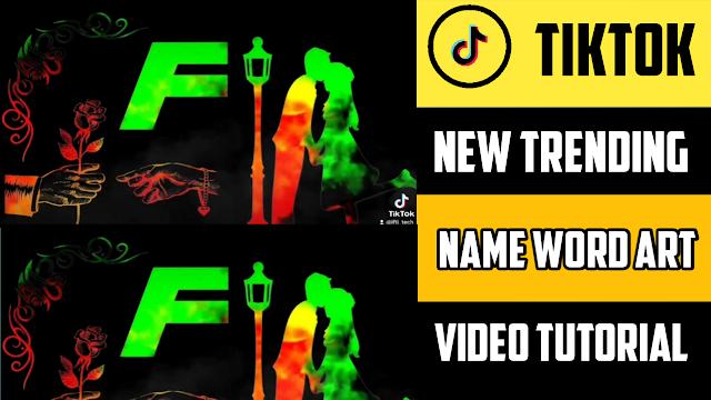 TikTok Name Art Video