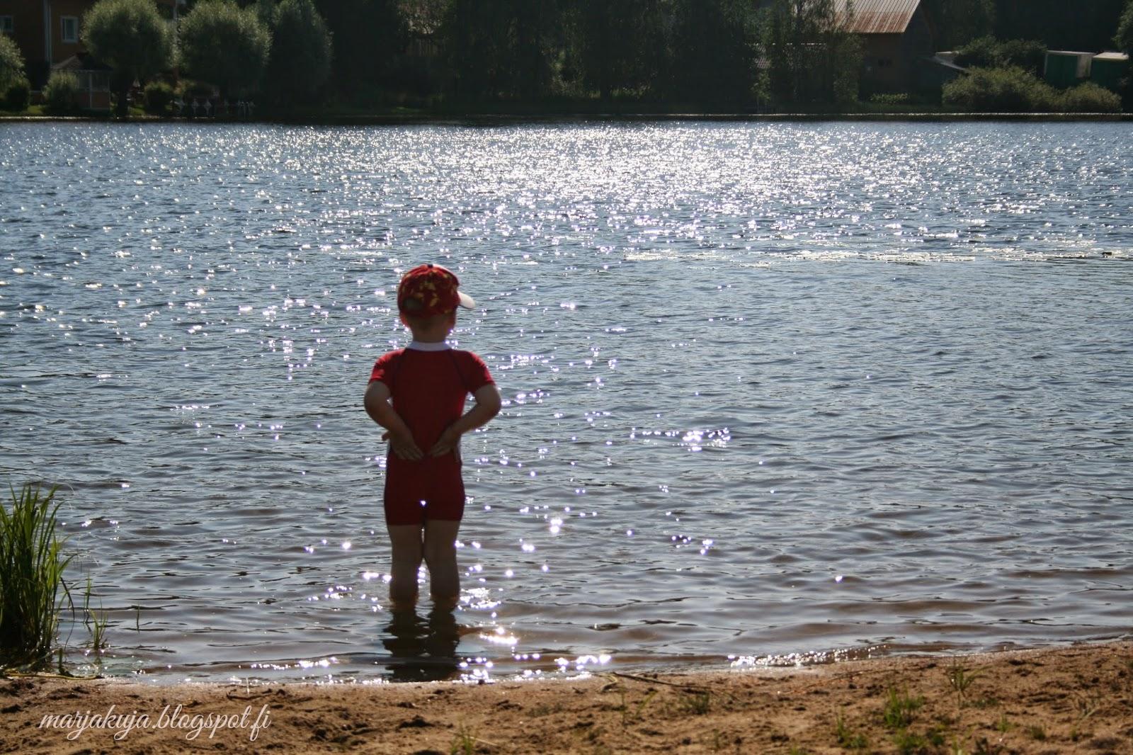 uimaranta kesä lapsi