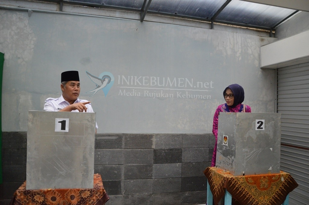 Partisipasi Pemilih Pilgub Jateng di Kebumen Meningkat