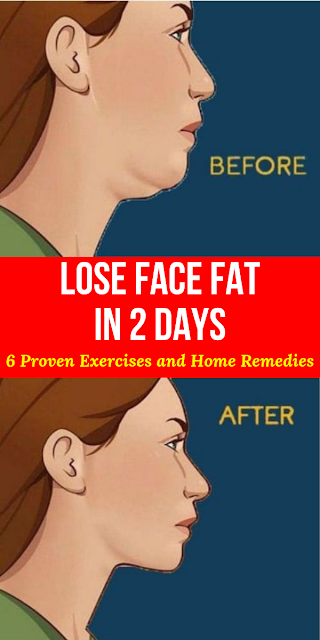 How to Lose Face Fat in 2 days 6 Proven Exercises and Home Remedies