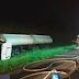 Acidente na Rodovia Anhanguera entre três veículos