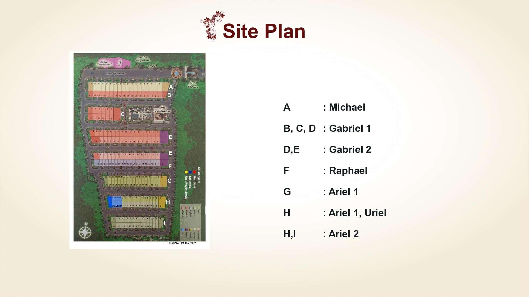 Siteplan Angel Residence