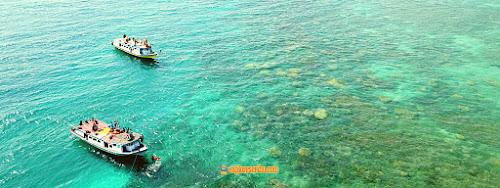 wisata gabungan pulau sebesi lampung