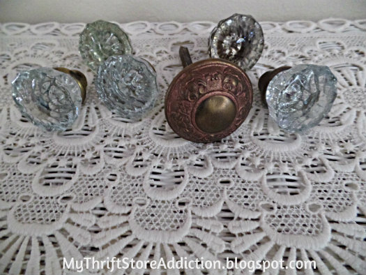 Vintage door knobs