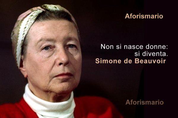 Aforismario Frasi E Citazioni Di Simone De Beauvoir