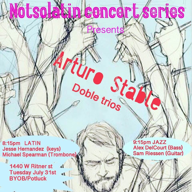 Philly Loves Drums: July 31, 2018 8:00-10:30PM Not So Latin
