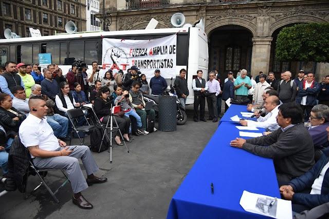 GOBIERNO DE LA CDMX HA FALLADO A LOS TRANSPORTISTAS; MAÑANA MARCHAN