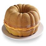 Pumpkin Cake O' Lantern - Step 1