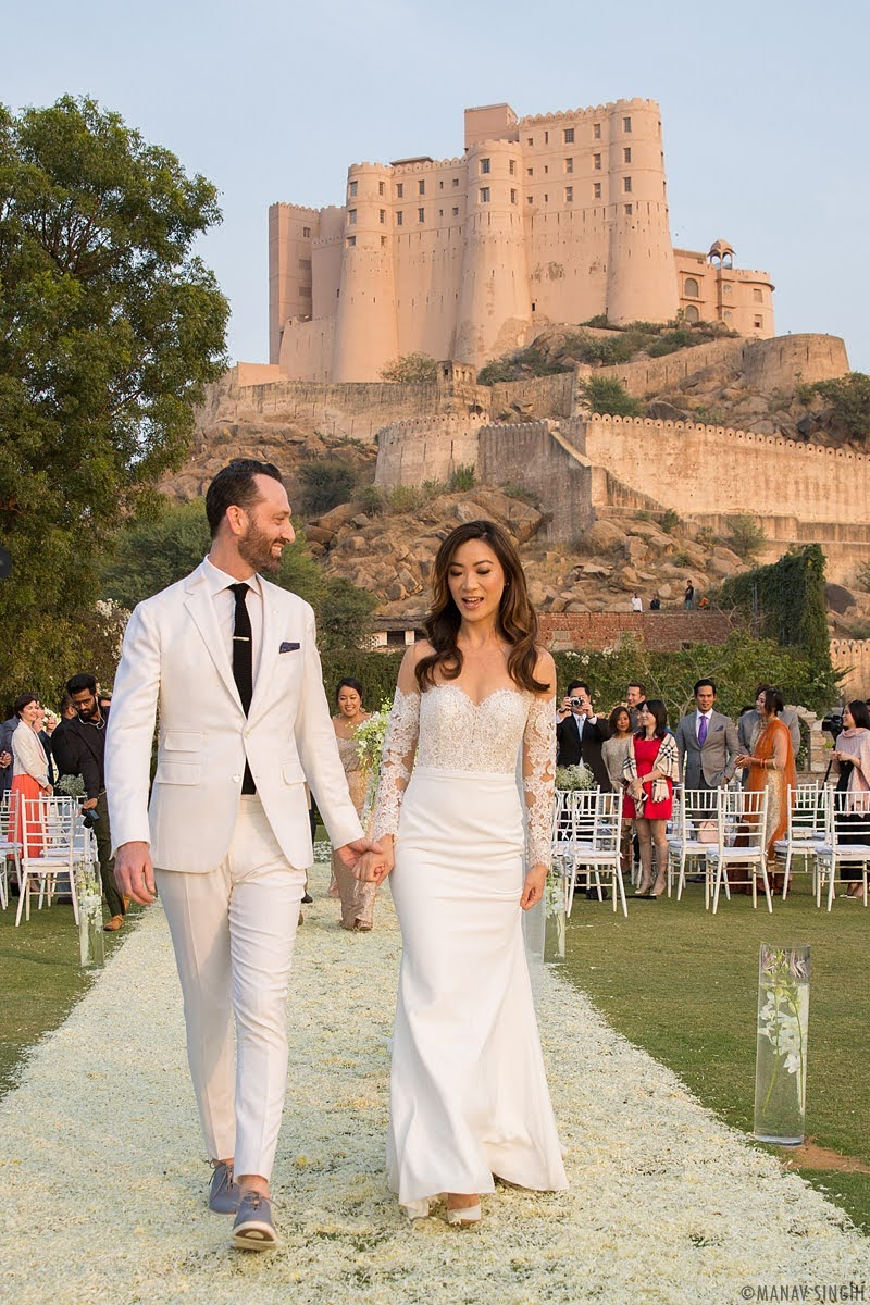 Michael + Jessica = Candid Wedding Photography - Jaipur.
