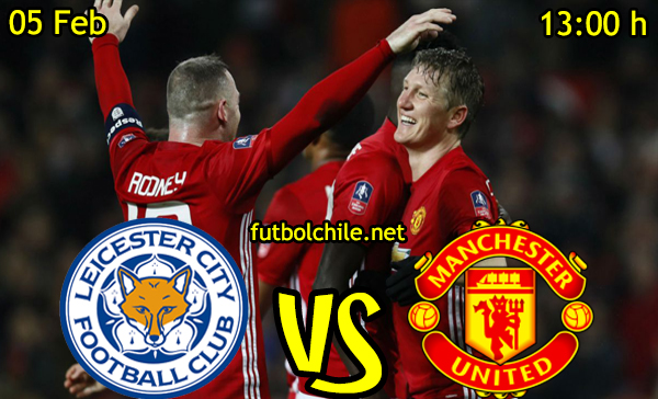 Ver stream hd youtube facebook movil android ios iphone table ipad windows mac linux resultado en vivo, online: Leicester City vs Manchester United