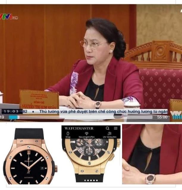 Đồng hồ giá cực khủng của bà Nguyễn Thị Kim Ngân lời đồn trên cộng đồng mạng có phải là sự thật?