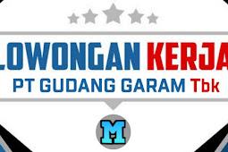 Jobs vajancy PT.Gudang Garam Indonesia Tbk Terbaru 2020