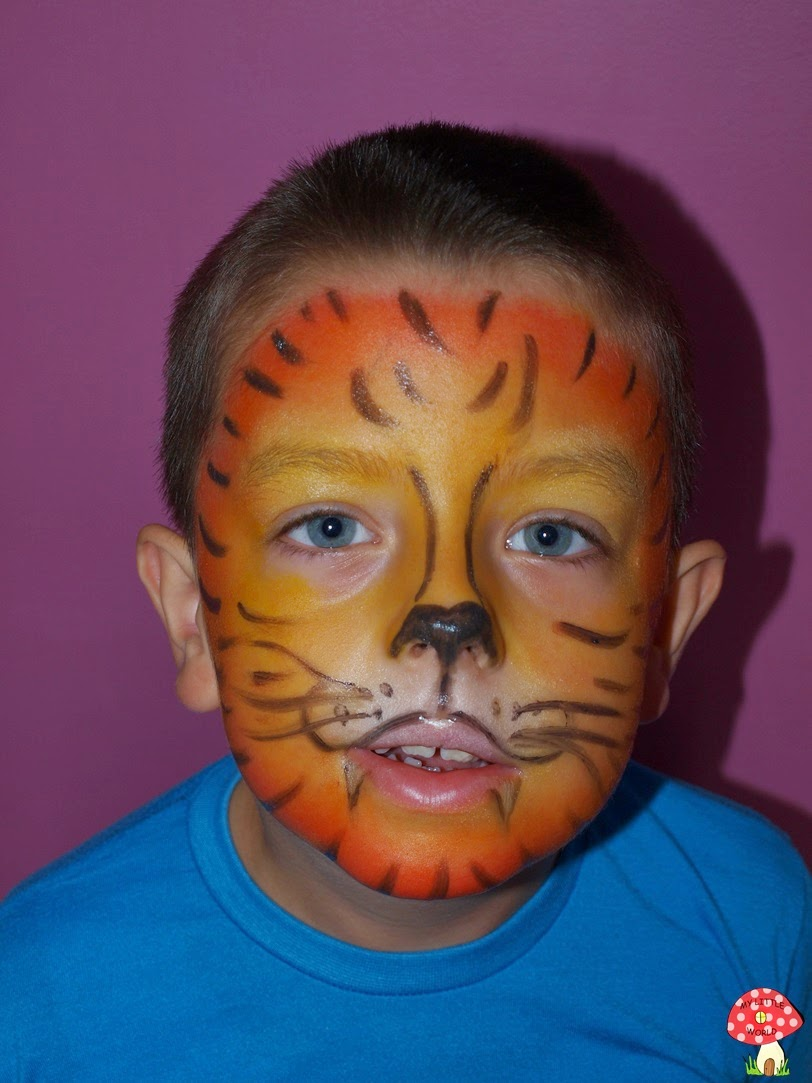 My Little World Malowanie Twarzy Dzieciaczki Tygrys