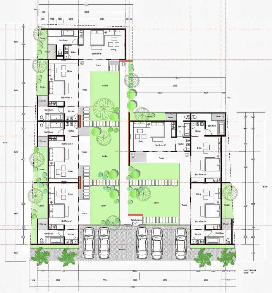 rumah kos 10 kamar dengan tanah yang luas referensi rumah