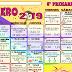 Calendario matemático 5° Quinto Grado mes de Febrero  2018-2019